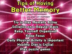 Better memory