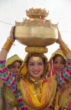 Punjabi women decked out for festiviities