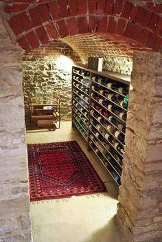old italian walls wine cellar - Google Search