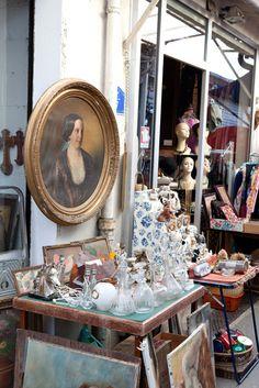 Marché aux puces St. Quen, Paris. - Paris flea market. I Love Paris, Paris Paris, Bric À Brac, Saint Ouen, Paris Flea Markets, Paris Shopping, Fantasy Places, Good Find, Flea Market Finds