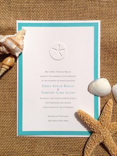 Invites, but with a better sand dollar and rounded courners
