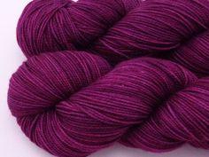 Purple Velvet -- Aurora Fingering. $23.00, via Etsy.