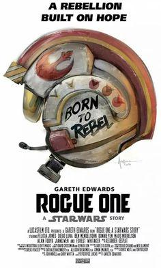 Rogue One fan poster