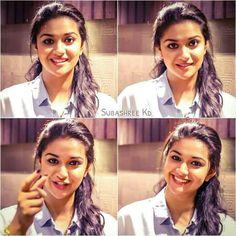 Keerthy Suresh Hot, Keerti Suresh, Cute Girl Poses, Cute Girls, Like Father Like Daughter, Best Heroine, Glamour Ladies, Vijay Actor, Samantha Ruth