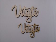 Drevený výrez VITAJTE menší  7,2x4,6 cm - 1ks
