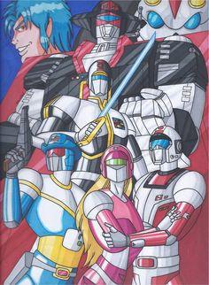 Saber Rider and the Star Sheriffs by RobertMacQuarrie1.deviantart.com on @DeviantArt