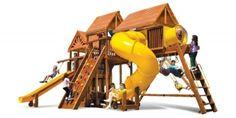 Игровая площадка Rainbow King Kong Clubhouse - доставка бесплатно. Гарантия! Сборка.