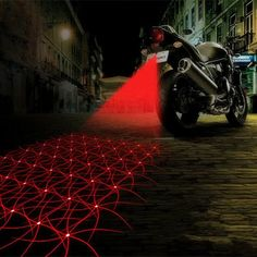 Stay Safe On The Road With A Cool Laser Light It's one of the most passive forms of weather on the planet, but fog accounts for countless pileups and accidents on roads and highways because drivers simply can't see the cars in front of them. But this Anti-collision LED Laser Rear Warning Light promises to help remedy that by shining a bright red line on the road, a few feet behind your vehicle, giving other drivers advance warning that you're ahead of them. The laser can be mounted using…