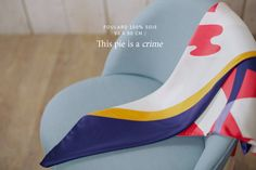 Scarf Shandor, textile design, Twin Peaks collection, Scarves Made in France
