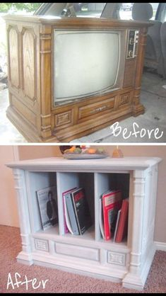 20 Easy 038 Creative Furniture Hacks With Pictures 20 Unusual Furniture Hacks Old TV turned Diy Furniture Hacks, Unusual Furniture, Refurbished Furniture, Repurposed Furniture, Furniture Projects, Furniture Makeover, Home Projects, Retro Furniture, Rehabbed Furniture