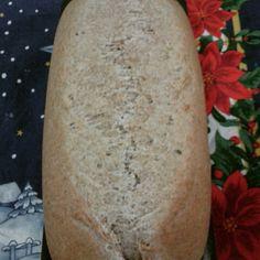 Meu pão integral ficou lindo! #bread #homemadefood