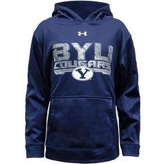 Youth Coldgear BYU Hoodie - Under Armour