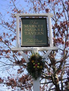 The Market Square Tavern; Colonial Williamsburg