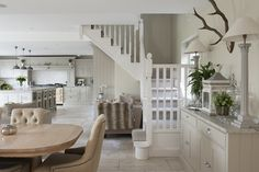 Another staircase leads to the other side of the upstairs #interiors #WTinteriors