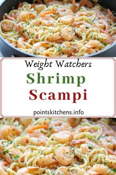 My Finest Meals Recipe Weight Watchers Shrimp Scampi - 5 Sizzling Hair Type Tendencies For 2006 If 2 Weight Watchers Shrimp, Weight Watcher Dinners, Weight Watcher Shrimp Scampi Recipe, Weight Watcher Recipes, Ww Recipes, Seafood Recipes, Healthy Recipes, Low Fat Pasta Recipes, Skinny Recipes