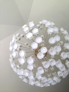 Updated IKEA sputnik light from Little Green Notebook Chandelier Lamp Shades, Chandelier Makeover, Ikea Lighting, Cool Lighting, Ikea Bookshelf Hack, Luminaria Diy, Little Green Notebook, Woven Shades, Diy Notebook