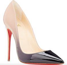 Christian Louboutin Dégradé Patent So Kate Pumps Dream Shoes, Crazy Shoes, Cute Shoes, Me Too Shoes, Christian Louboutin So Kate, Stilettos, Beautiful Shoes, Fashion Shoes, Fashion Outfits