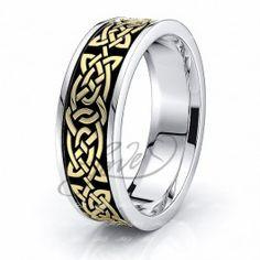 Celtic Wedding Bands and Dresses