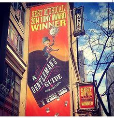 A Gentleman's Guide to Love & Murder #Broadway