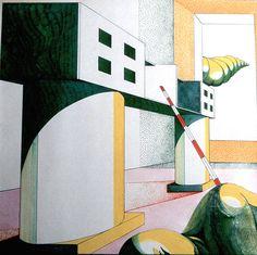1982 UN MOBILE E IL SUO SPAZIO_by Brunetto De Batté & Giovanna Santinolli