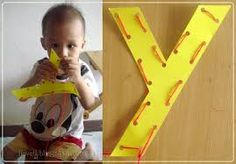 y letter crafts - Google Search