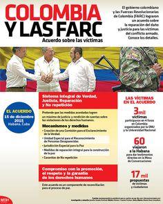 Detalles del acuerdo de Colombia y las FARC sobre la reparación del daño en el conflicto armado. #Infographic