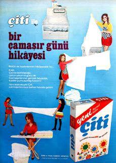 Çiti çamaşır deterjanı 1972
