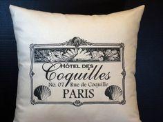 Paris Hotel Bed Pillow
