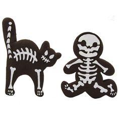 Culinary Stencils - Halloween Cat Skeleton Cookie Stencil