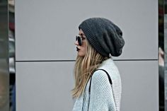 Everything looks cooler with a beanie