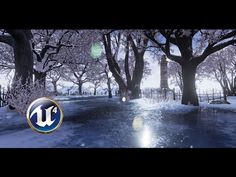 Speed Level Design - Winter Scene - Unreal Engine - YouTube