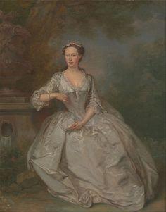 Bartholomew Dandridge - A Lady with a Book circa 1735 Yale Center for British Art