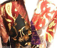 Alex Kim Tapestry Jacket, Womens Medium, Multicolor