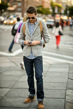 street style. #men #fashion