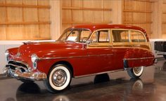 1950 Oldsmobile 88 Series station wagon.