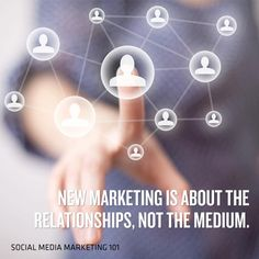 New marketing is about the relationships, not the medium.     #Health #Marketing #Blog #SocialMedia #Tips #Tools #Twitter #Facebook #LinkedIn #YouTube #Myspace