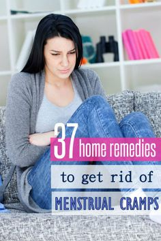 There are a variety of menstrual cramp remedies you can find at home