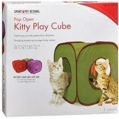 Kitty Play Cube
