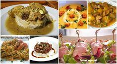 Menú semanal 11. Siete días, siete ideas - La cocina de Pedro y Yolanda