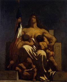 Allegoria della Repubblica, 1848, olio su tela, Musée d'Orsay, Parigi