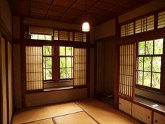 駒井家住宅 Japanese Buildings, Japanese Architecture, Interior Architecture, Japanese Interior Design, Japanese Design, Tatami Room, Traditional Japanese House, Building A House, House Design
