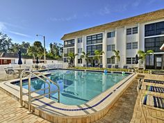 Come see Siesta Key and stay at this wonderful vacation rental condo. Siesta Key, Come And See, Florida Home, Swimming Pools, Condo, Patio, Beach, Places, Outdoor Decor
