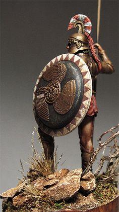 Greek Hoplite Ancient Rome, Ancient Greece, Ancient Art, Ancient History, Greek Warrior, Fantasy Warrior, Greek Soldier, Classical Greece, Greek History