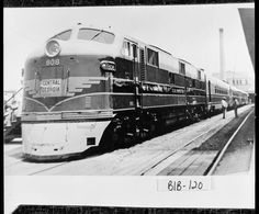 Macon, 1948. Nancy Hanks, a train on the Central of Georgia line on display at Terminal Station, located at Fifth and Cherry Streets. It was on display because it was making its first run.  Photo courtesy of The Georgia Archives, Vanishing Georgia Collection.