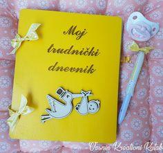Dnevnik za trudnice - Obradujte sebe ili neku buduću mamu! 🎁Zapišite sve informacije o razvoju bebe i promenama tela tokom svakog meseca trudnoće, lepite sličice, zabeležite svoje doživljaje, misli i osećanja... Dimenzije: 20*16cm. 🐣👶👼💞💝🍼🍬🍭 #vesninkutak #dnevnikzatrudnice #mojtrudnickidnevnik #dnevnik #poklonizatrudnice #trudnice #trudnoca #gifts #pokloni #woodengifts #personalizedgifts #babygirl #babybump #pregnant #pregnancy #babygirl #babies #vremejezabebe