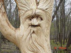 Tree Spirit Faces   Spirit tree in Winnipeg   Flickr - Photo Sharing!
