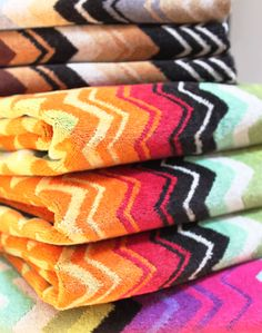Missoni Home towel, mix n' match.  www.stitchchicago.com