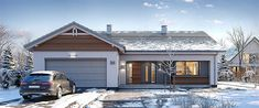 Projekt domu Parterowy 4 122,77 m2 - koszt budowy 218 tys. zł - EXTRADOM Exterior Design, Architecture, Outdoor Decor, House, Home Decor, Aprons, Twitter, Arquitetura, Homemade Home Decor