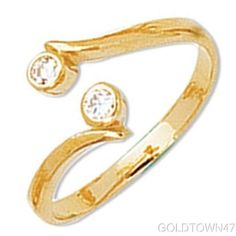 New with tags Toe Ring in Yellow Gold Shiny Bypass Type Toe Ring in Yellow Gold Shiny Bypass Type Description Product Description This is an amazing p Gold Toe Rings, Pure Products, Engagement, Yellow, Diamond, Bracelets, Type, Jewelry, Awesome