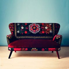 Patchwork Sofa I, £2,061, now featured on Fab.